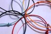 Rouge, noir, Turquoise, bleu marine, rose, jaune, orange, vert