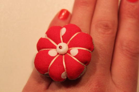 bague fleur du japon