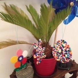 Décorations de Pâques faits main par les enfants